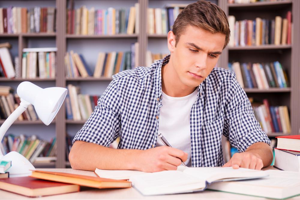 Postura correcta para estudiar