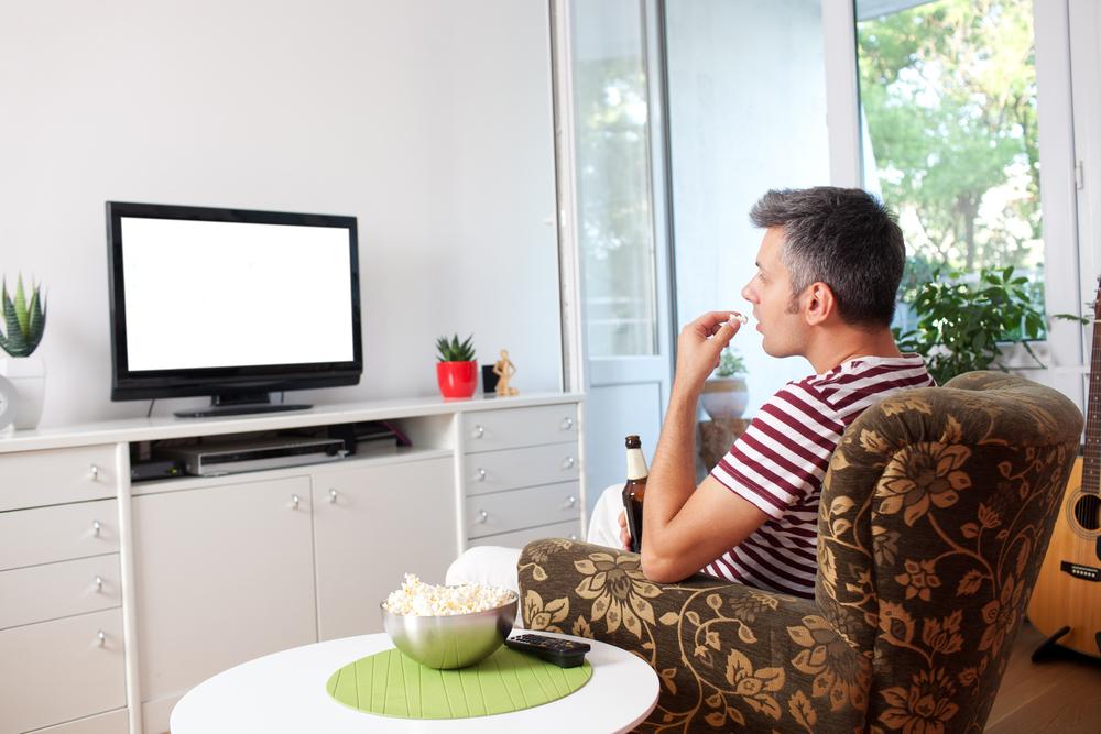 Postura correcta para ver television