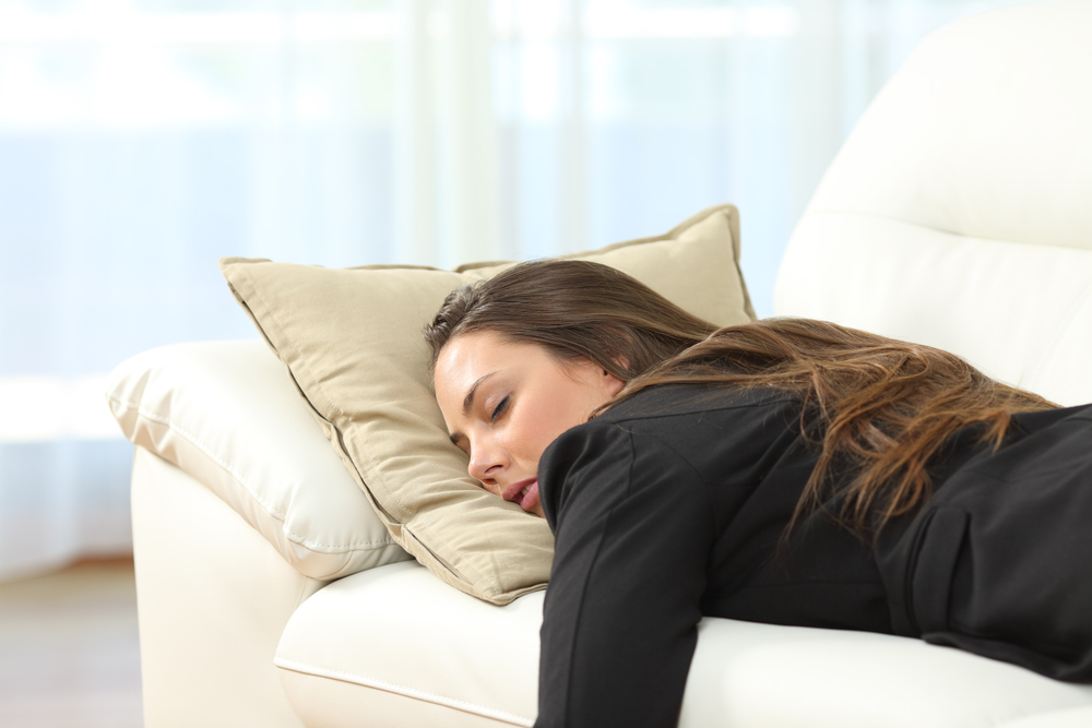 Postura incorrecta para dormir