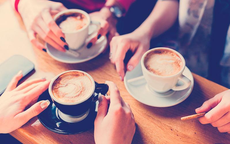 Tarde de café colombiano