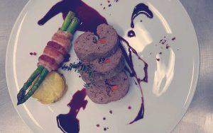 receta de cocina: rollo de carne