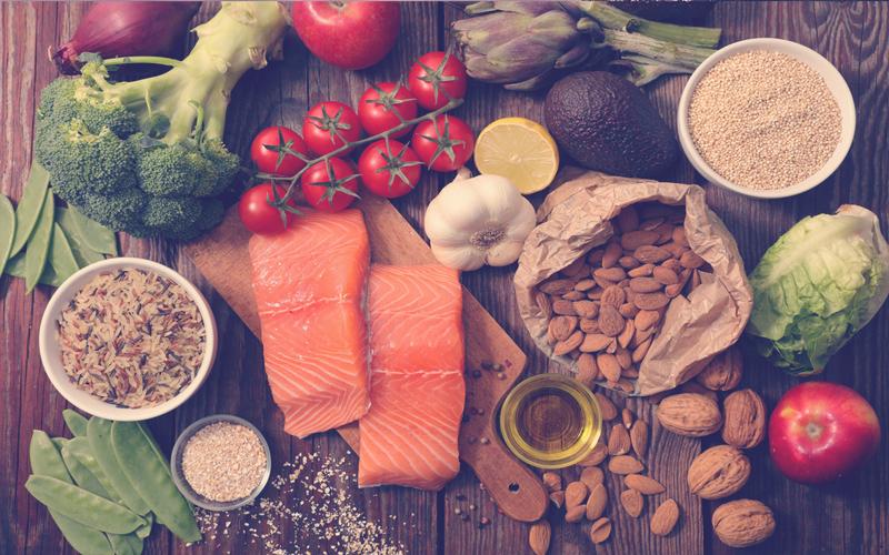 Comida saludable en Bogotá