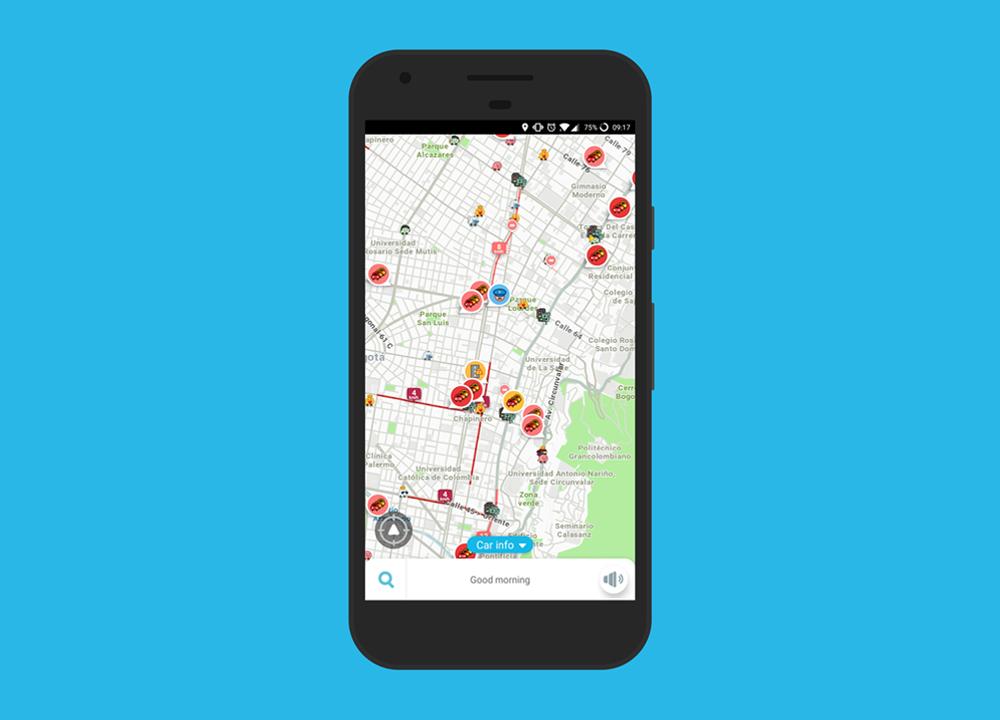 Aplicación para el transporte en carro o moto en Bogotá