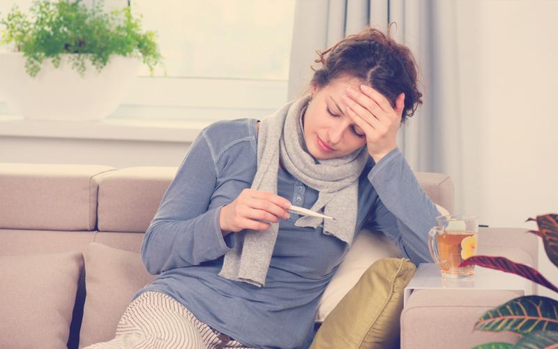 Fiebre alta: Síntomas de apendicitis
