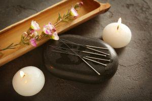 agujas de acupuntura para tecnicas de relajación alternativas