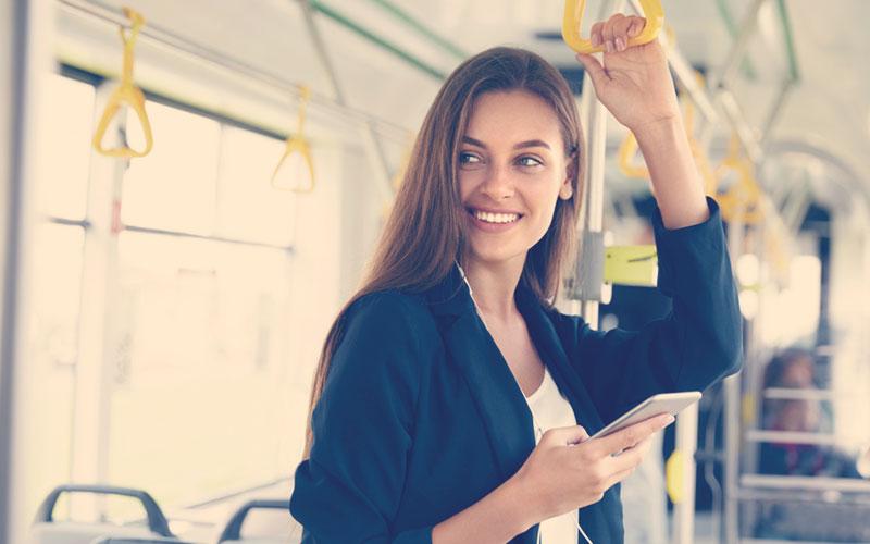 Música en el transporte público