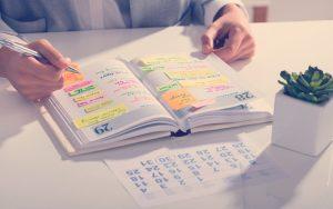 Tips para organizar tu tiempo en el trabajo