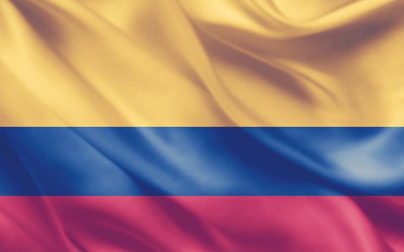 Bandera de la República de Colombia