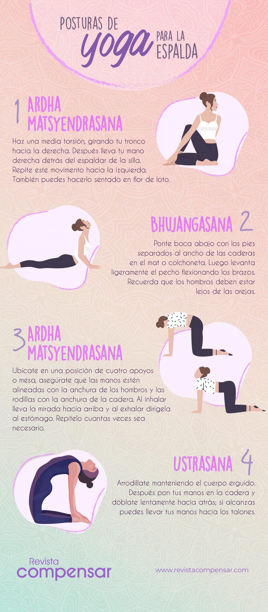 Posturas de yoga para la espalda