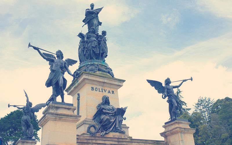 Estatua de Simón Bolívar