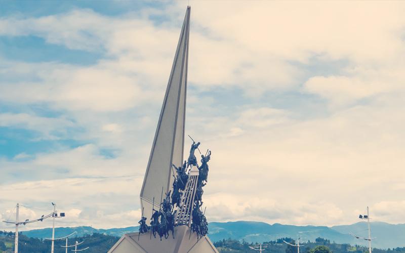 Estatua de la Batalla del Pantano de Vargas