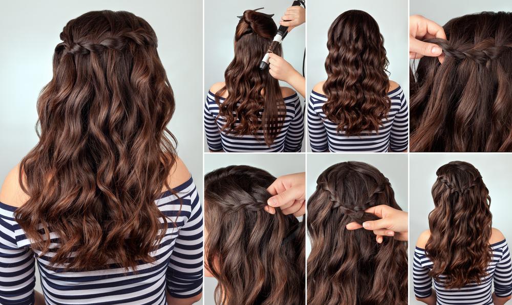 Peinado trenzado fácil de hacer