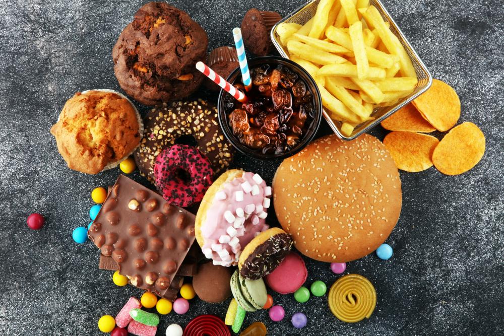 comida chatarra y procesada