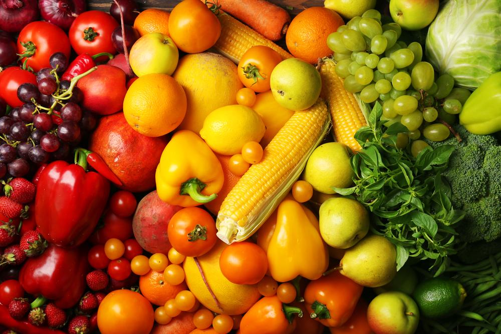 Verduras de todos los colores