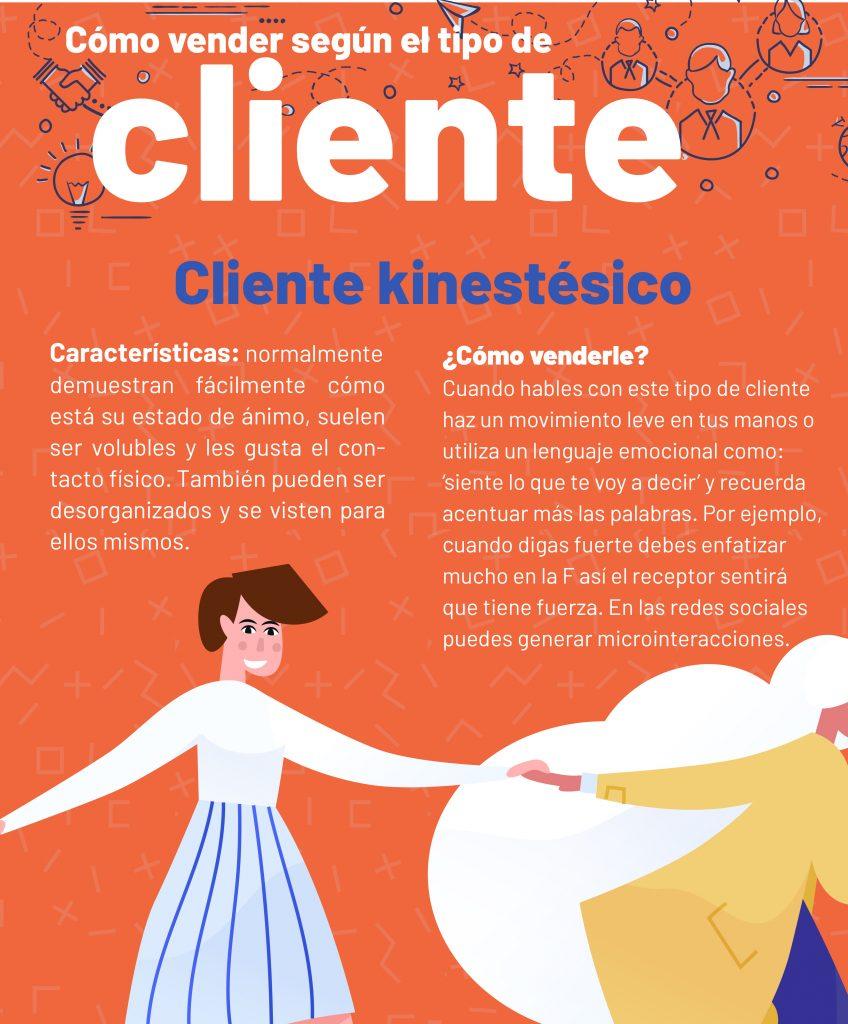 cliente kinestésico