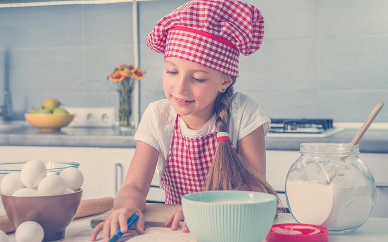 Recetas para preparar con niños