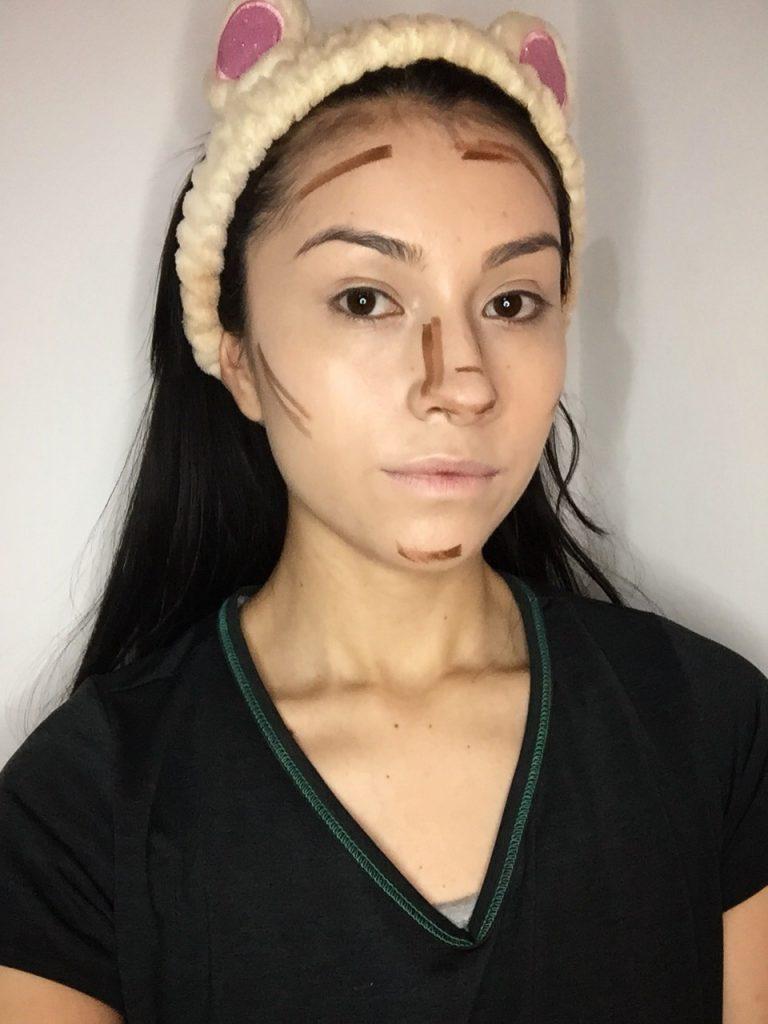 Paso dos maquillaje Euphoria