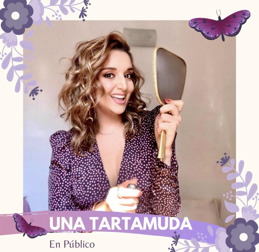 María Luisa Torres, creadora del podcast: una tartamuda en público.
