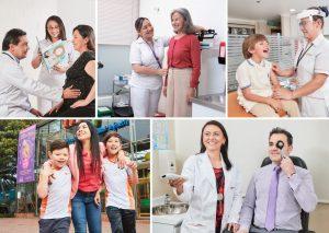 doctores de Compensar Salud trabajando por el bienestar de los colombianos