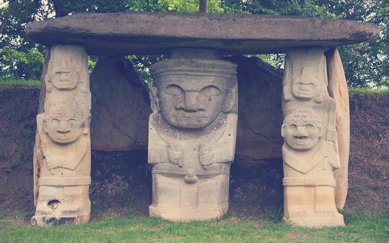El Parque Arqueológico de San Agustín
