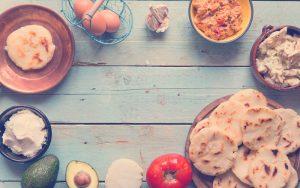 Ingredientes para preparar un desayuno saludable para niños