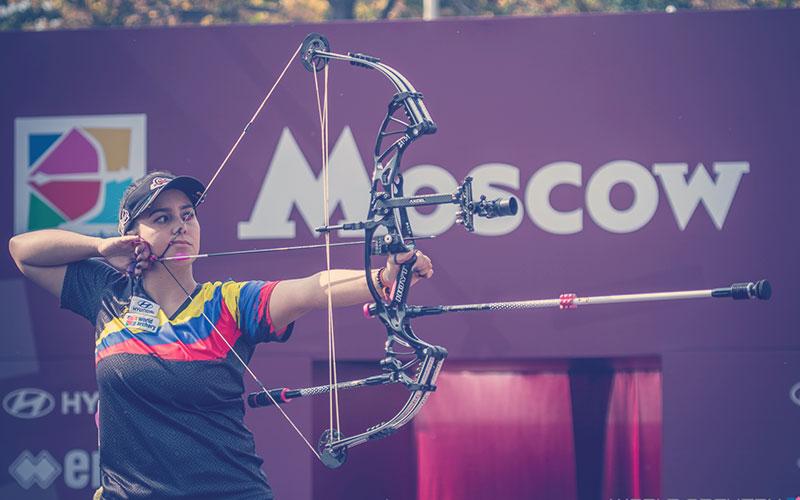 Pentacampeona mundial de tiro con arco compuesto y estudiante de medicina