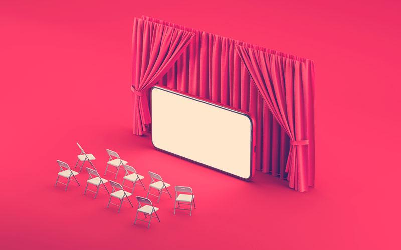 Salas digitales para disfrutar de la programación virtual de los teatros digitales