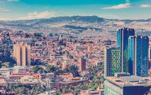 paisaje urbano de Bogotá