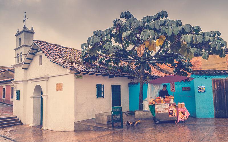 Iglesia de la Plaza Del Chorro Del Quevedo
