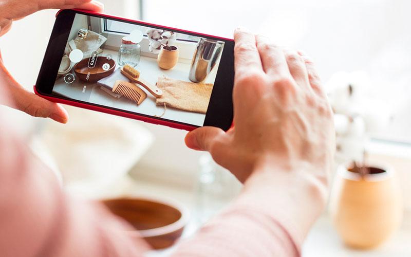 Como tomar fotografías para vender productos