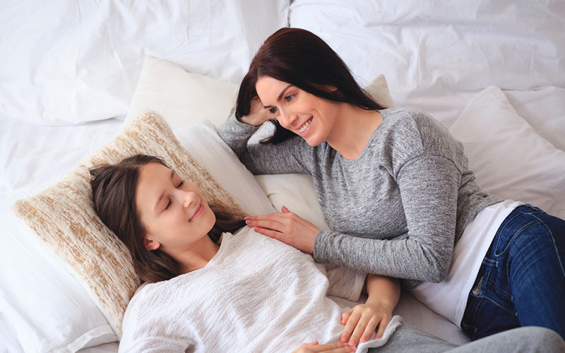 Mestruación un tema para hablar con tus hijas