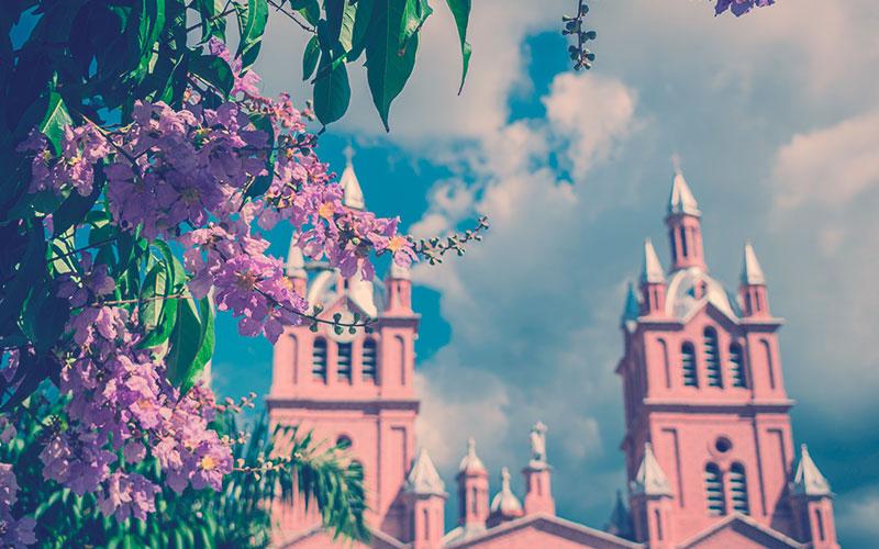 la Basílica del Señor de los Milagros,